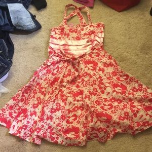 Cute floral dress for girls